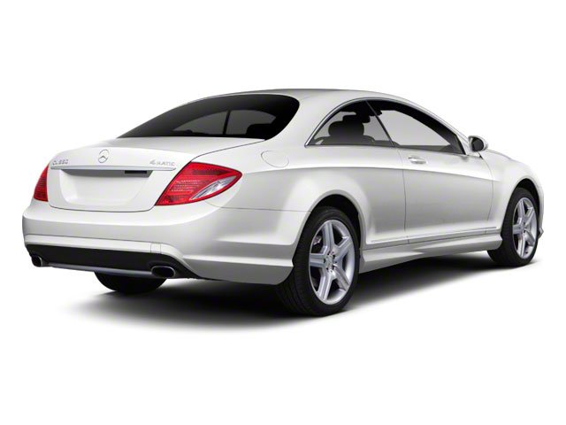2010 Mercedes-Benz CL-Class Prices and Values Coupe 2D CL600 side rear view