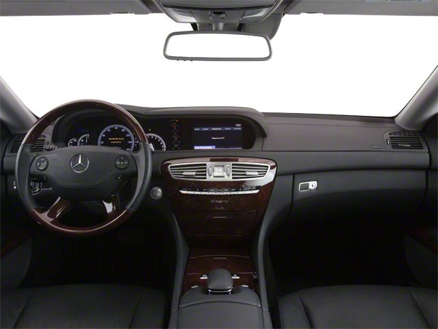 2010 Mercedes-Benz CL-Class Prices and Values Coupe 2D CL600 full dashboard