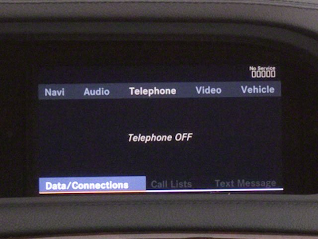2010 Mercedes-Benz CL-Class Prices and Values Coupe 2D CL600 stereo system
