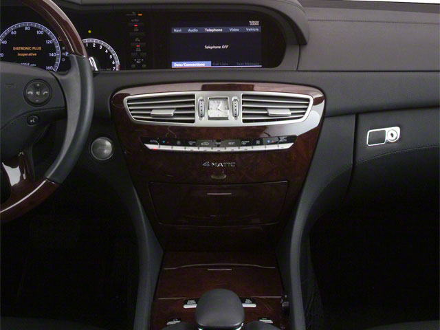 2010 Mercedes-Benz CL-Class Prices and Values Coupe 2D CL600 center console