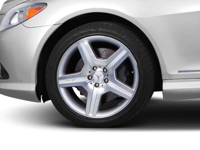2010 Mercedes-Benz CL-Class Prices and Values Coupe 2D CL600 wheel