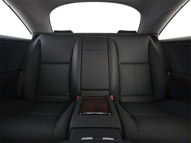 2010 Mercedes-Benz CL-Class Prices and Values Coupe 2D CL600 backseat interior