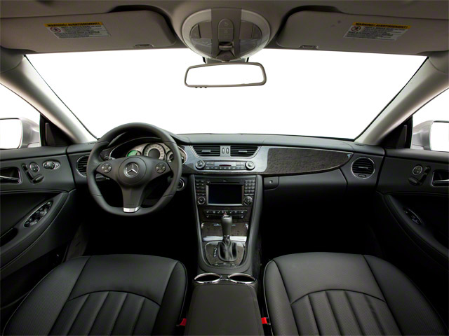 2010 Mercedes-Benz CLS-Class Prices and Values Sedan 4D CLS550 full dashboard