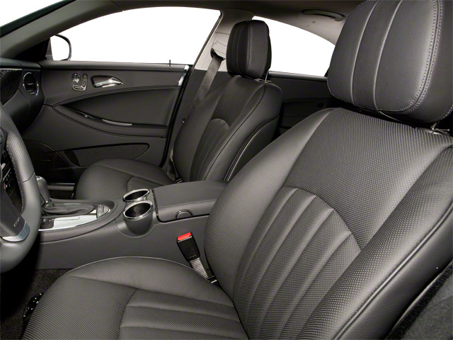 2010 Mercedes-Benz CLS-Class Prices and Values Sedan 4D CLS550 front seat interior