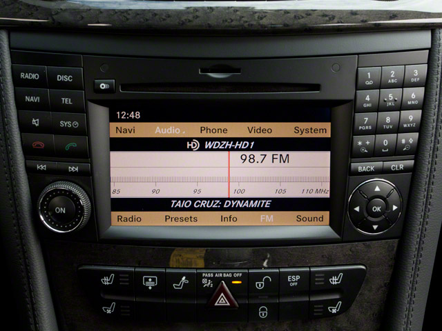 2010 Mercedes-Benz CLS-Class Prices and Values Sedan 4D CLS550 stereo system