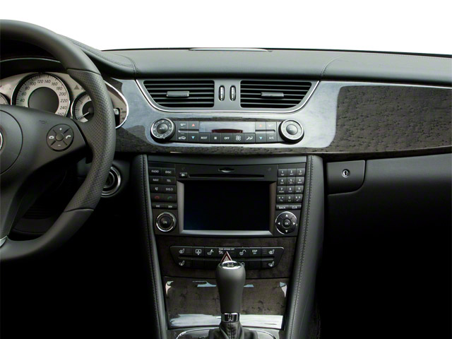 2010 Mercedes-Benz CLS-Class Prices and Values Sedan 4D CLS550 center dashboard