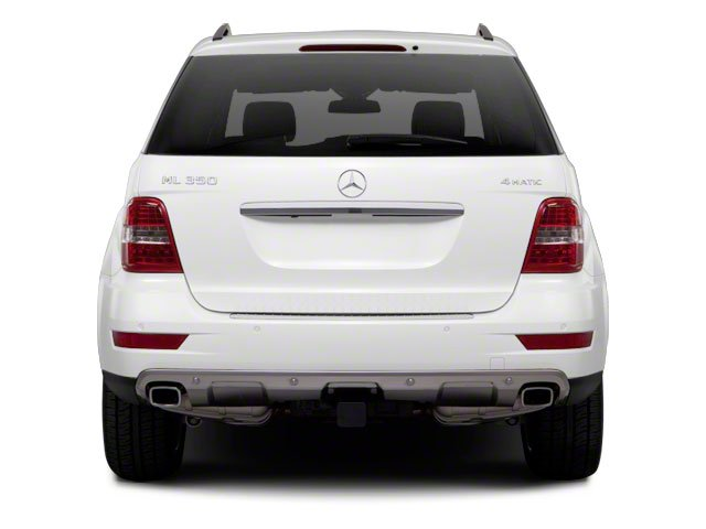 2010 Mercedes-Benz M-Class Prices and Values Utility 4D ML550 4WD rear view