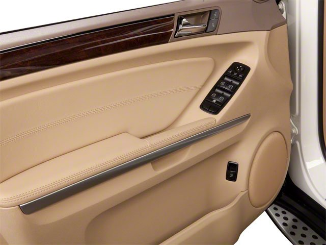 2010 Mercedes-Benz M-Class Prices and Values Utility 4D ML550 4WD driver's door