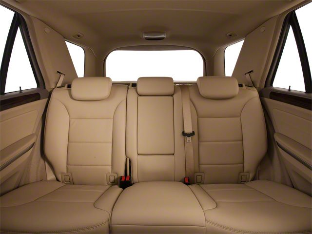 2010 Mercedes-Benz M-Class Prices and Values Utility 4D ML550 4WD backseat interior