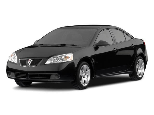 2010 Pontiac G6 Prices and Values Sedan 4D side front view