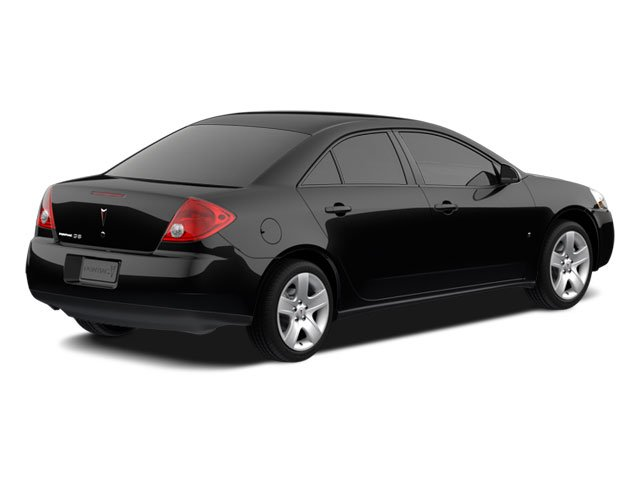 2010 Pontiac G6 Prices and Values Sedan 4D side rear view