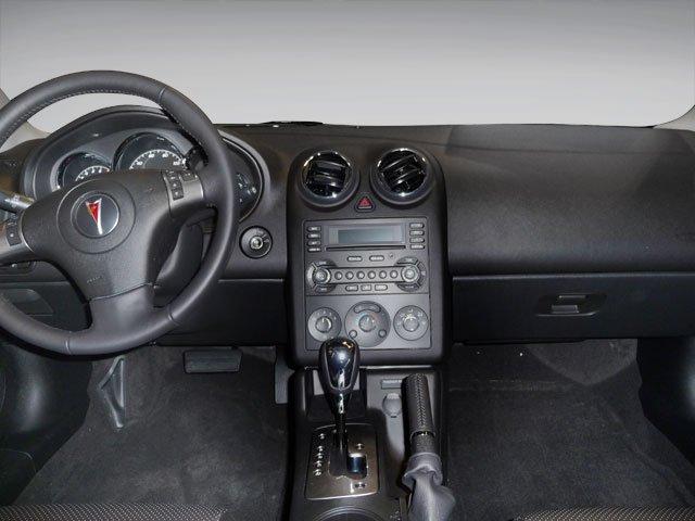 2010 Pontiac G6 Prices and Values Sedan 4D full dashboard