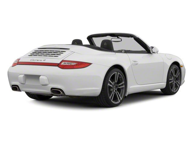 2010 Porsche 911 Prices and Values Cabriolet 2D S side rear view