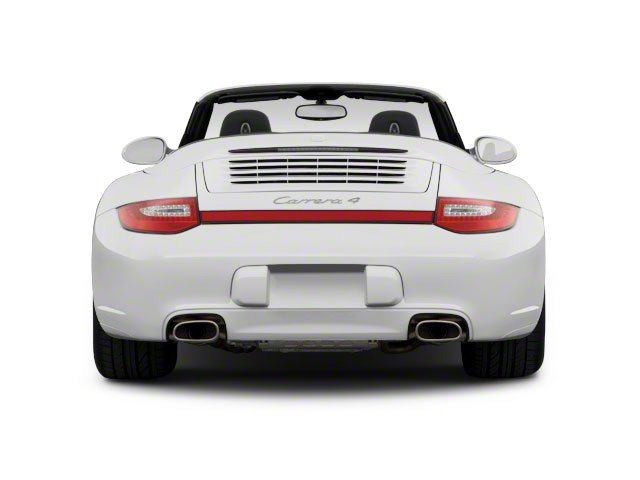 2010 Porsche 911 Prices and Values Cabriolet 2D 4 AWD rear view