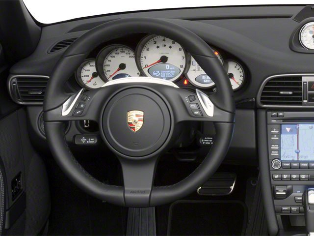 2010 Porsche 911 Prices and Values Cabriolet 2D 4 AWD driver's dashboard