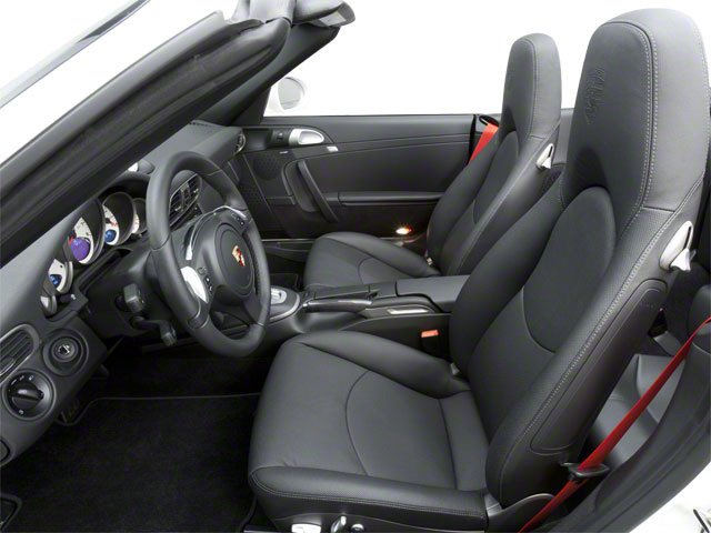 2010 Porsche 911 Prices and Values Cabriolet 2D 4 AWD front seat interior