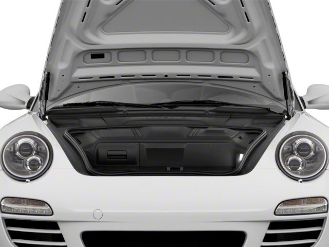 2010 Porsche 911 Prices and Values Cabriolet 2D S open trunk