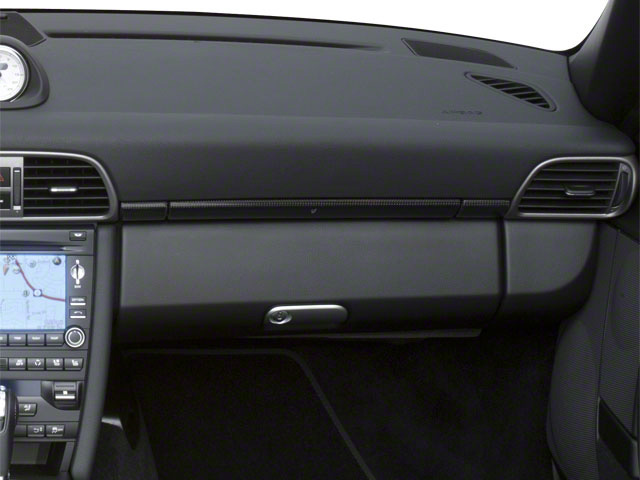 2010 Porsche 911 Prices and Values Cabriolet 2D S passenger's dashboard
