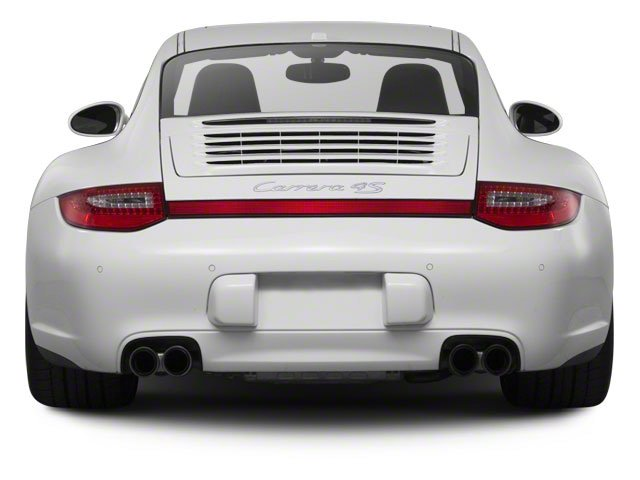 2010 Porsche 911 Prices and Values Coupe 2D Turbo AWD rear view