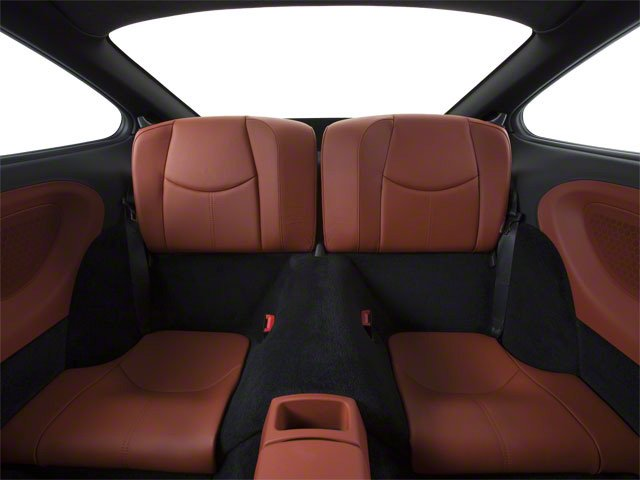 2010 Porsche 911 Prices and Values Coupe 2D Turbo AWD backseat interior