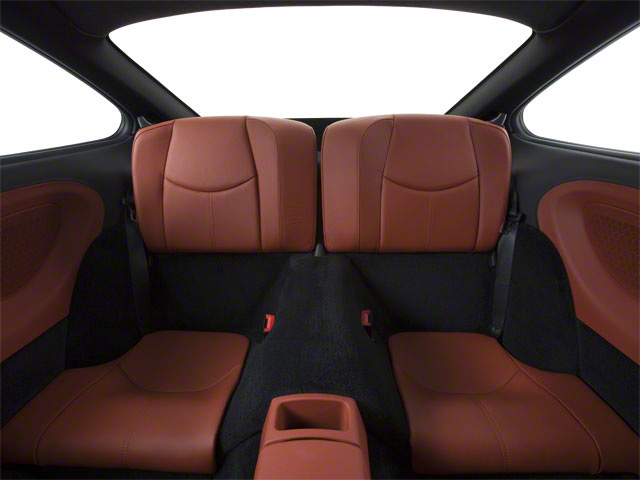 2010 Porsche 911 Prices and Values Coupe 2D S backseat interior