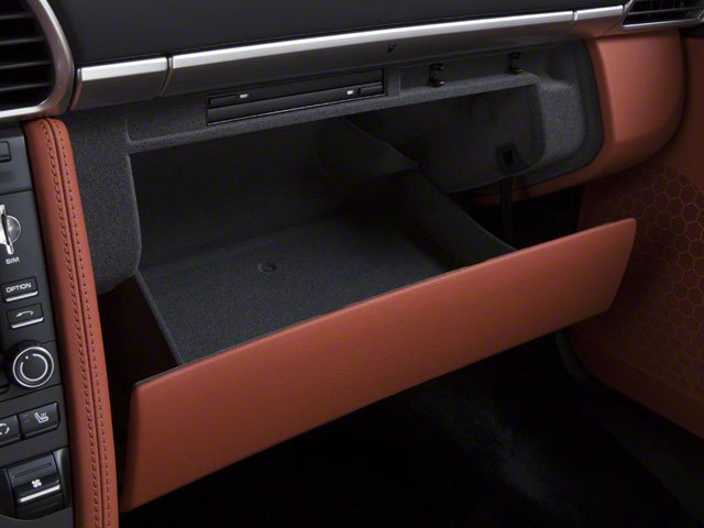 2010 Porsche 911 Prices and Values Coupe 2D S glove box