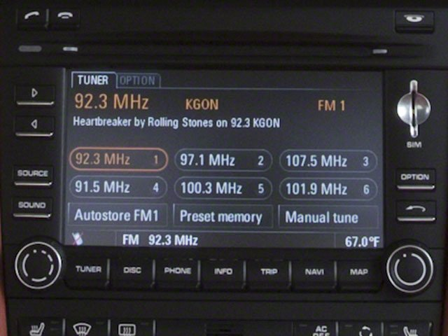 2010 Porsche 911 Prices and Values Coupe 2D S navigation system