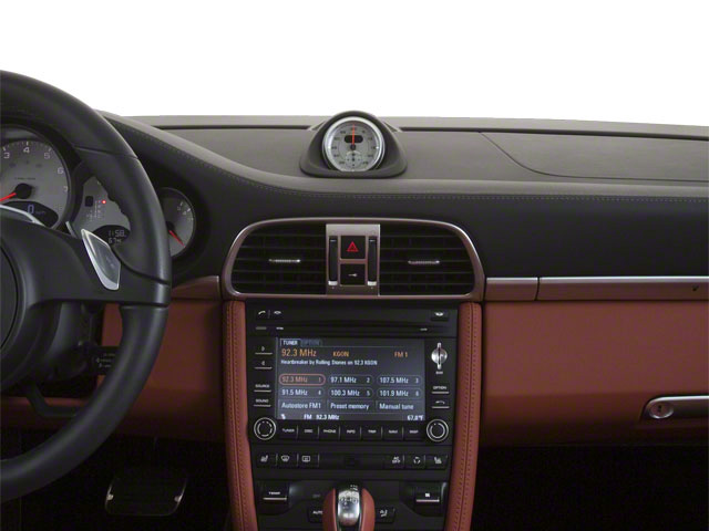 2010 Porsche 911 Prices and Values Coupe 2D S center dashboard