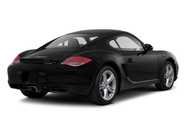 2010 Porsche Cayman Prices and Values Coupe 2D side rear view