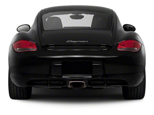 2010 Porsche Cayman Prices and Values Coupe 2D rear view