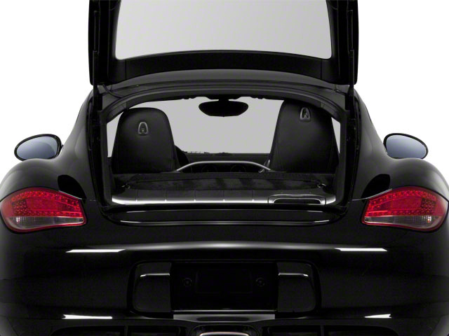 2010 Porsche Cayman Prices and Values Coupe 2D open trunk