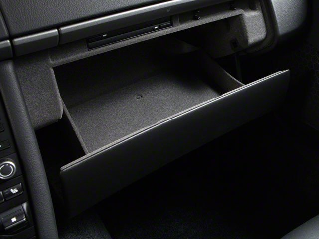 2010 Porsche Cayman Prices and Values Coupe 2D glove box