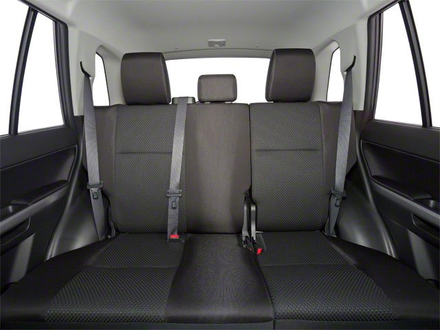 2010 Suzuki Grand Vitara Prices and Values Utility 4D Premium 4WD backseat interior