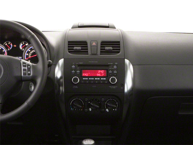 2010 Suzuki SX4 Pictures SX4 Hatchback 5D Sport photos center dashboard