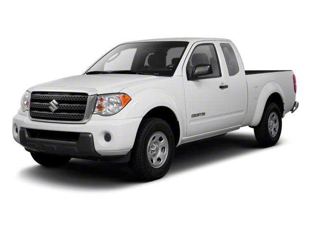 2010 Suzuki Equator Prices and Values Extended Cab 2WD side front view