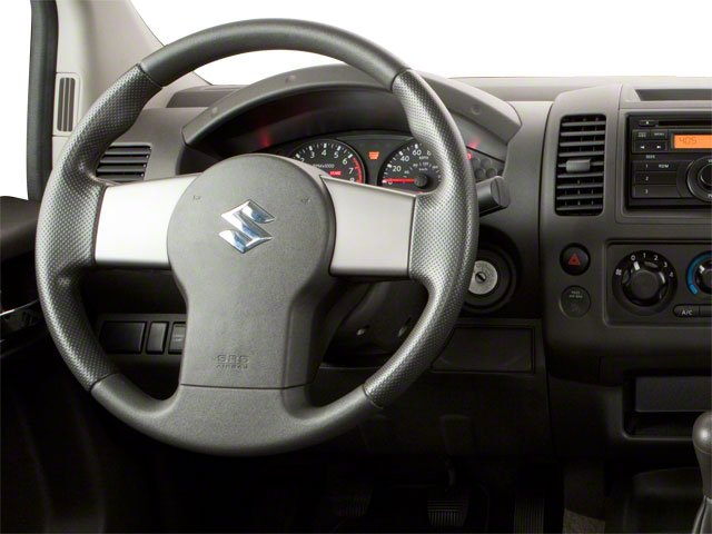 2010 Suzuki Equator Prices and Values Extended Cab 2WD driver's dashboard