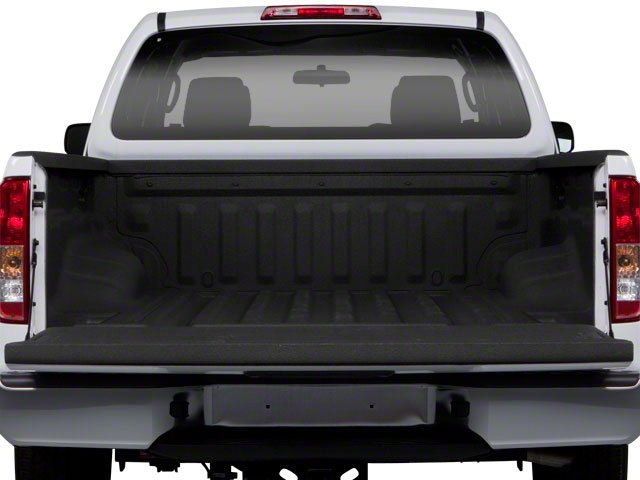 2010 Suzuki Equator Prices and Values Extended Cab 2WD open trunk