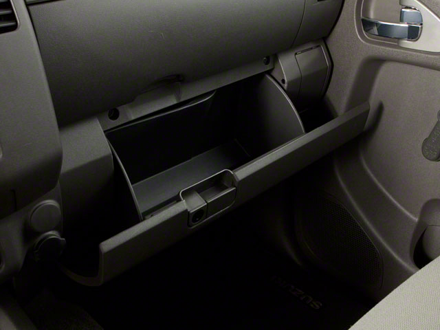 2010 Suzuki Equator Prices and Values Extended Cab 2WD glove box