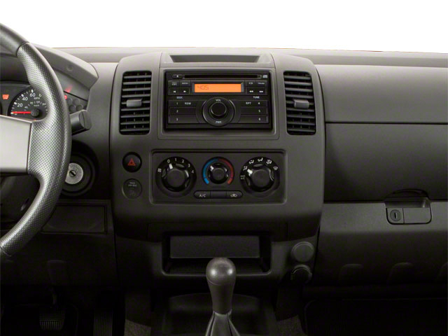 2010 Suzuki Equator Prices and Values Extended Cab 2WD center dashboard