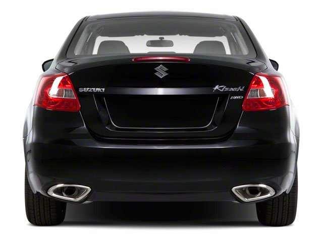 2010 Suzuki Kizashi Prices and Values Sedan 4D S rear view