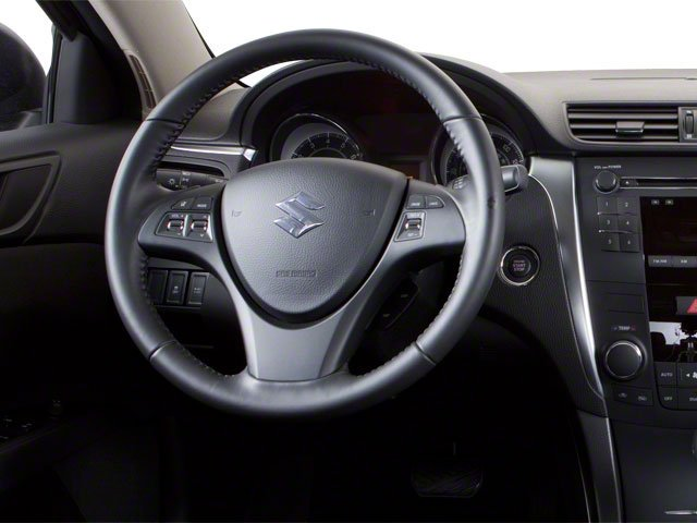 2010 Suzuki Kizashi Prices and Values Sedan 4D S driver's dashboard