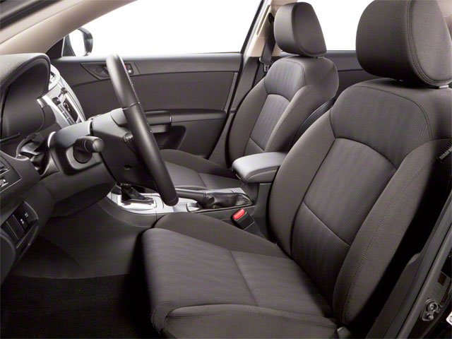2010 Suzuki Kizashi Prices and Values Sedan 4D S front seat interior