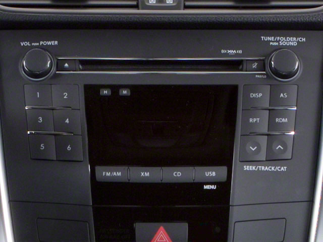 2010 Suzuki Kizashi Prices and Values Sedan 4D S stereo system
