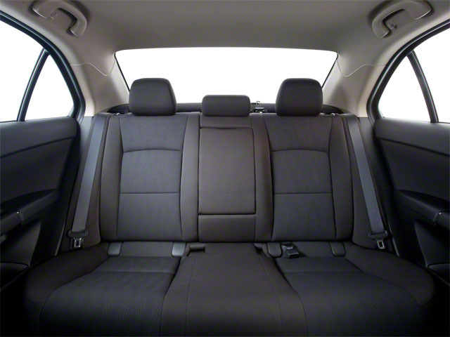 2010 Suzuki Kizashi Prices and Values Sedan 4D S backseat interior