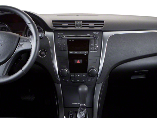 2010 Suzuki Kizashi Prices and Values Sedan 4D S center dashboard