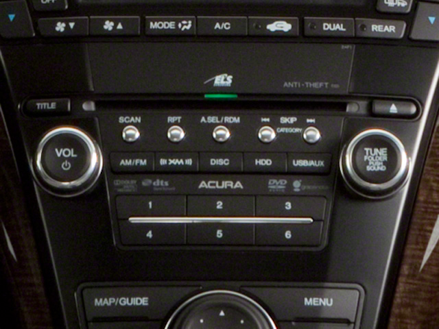 2011 Acura MDX Prices and Values Utility 4D AWD stereo system