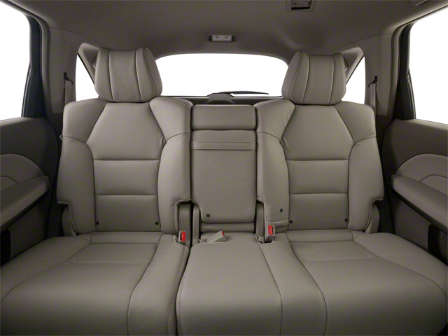 2011 Acura MDX Prices and Values Utility 4D AWD backseat interior