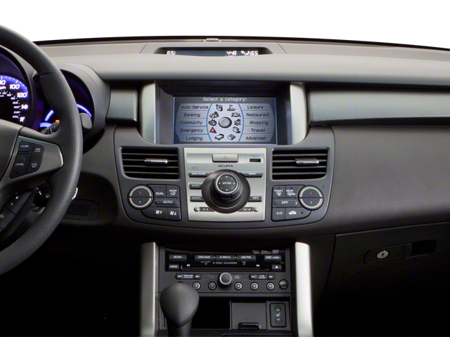 2011 Acura RDX Prices and Values Utility 4D AWD center dashboard