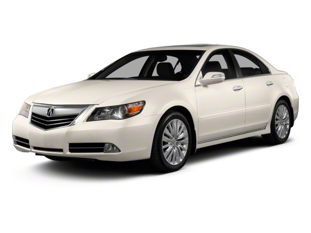 2011 Acura RL Prices and Values Sedan 4D Advance AWD side front view