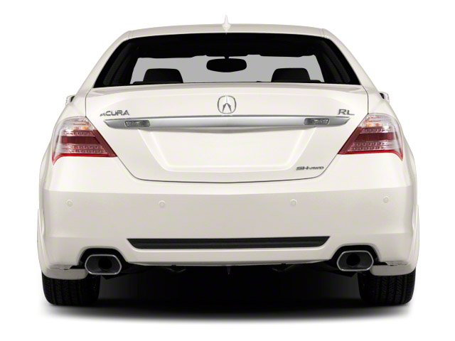 2011 Acura RL Prices and Values Sedan 4D Advance AWD rear view